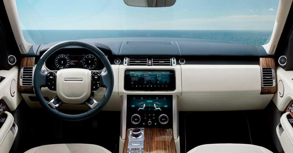 Rent Range Rover Vogue - Interior