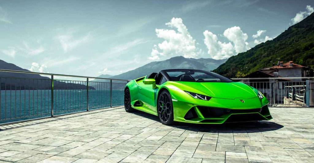 rent lamborghini for a day